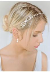 Headband mariage Alice ivoire
