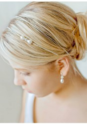 Headband mariée Anna