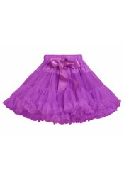 Jupe tutu violet