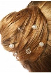 Pics cheveux mariage Douceur