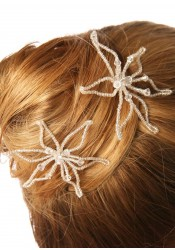 Pics cheveux mariage Lys