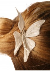 Pic cheveux mariage Butterfly