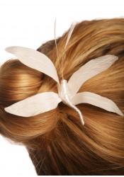 Pic cheveux mariage Libellule