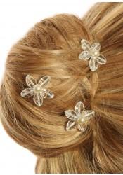 Pics cheveux mariage Lucie