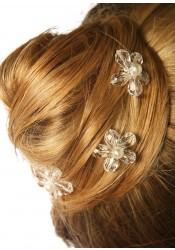 Pics cheveux mariage Fleur d'été