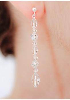 Boucles d'oreilles mariage Elisa