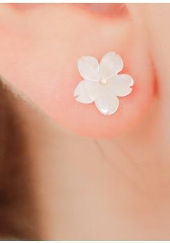 Boucles d'oreilles mariée Gardania