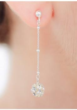 Boucles d'oreilles mariée Lucia