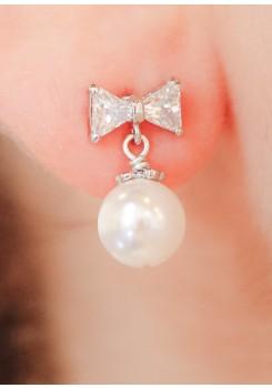 Boucles d'oreilles mariée Stella