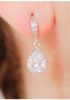 Boucles d'oreilles mariée Victoria