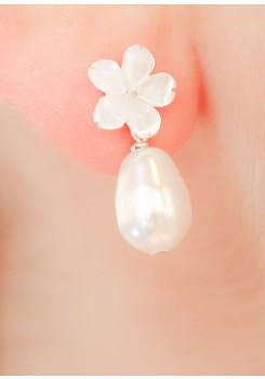 Boucles d'oreilles mariée Hana