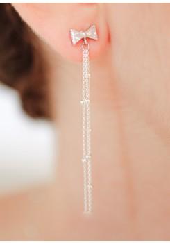 Boucles d'oreilles mariée Lili