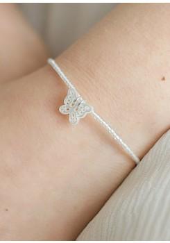 Bracelet cortège enfant Papillon