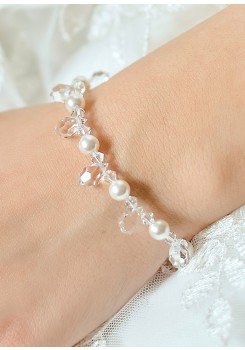 Bracelet mariage Gouttes Perles