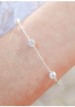 Bracelet mariage Ines