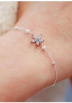 Bracelet mariage Violette