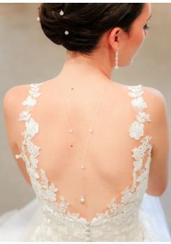Collier de dos mariée Lexi