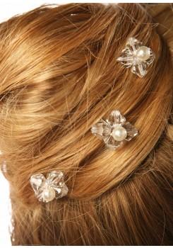 Pics cheveux mariage Elégance (Lot de 3)
