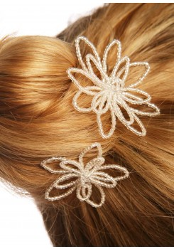 Pics cheveux mariage Etoiles