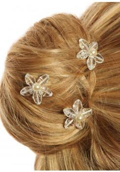 Pics cheveux mariage Lucie (Lot de 3)