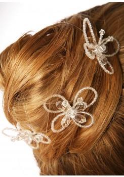 Pics cheveux mariage Papillon