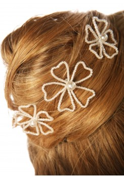 Pics cheveux mariage Angélique (Lot de 3)