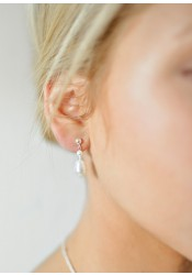 Boucles d'oreilles mariage Alice