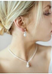 Boucles d'oreilles mariage Bliss