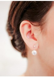 Boucles d'oreilles mariage Lana