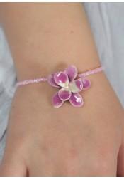Bracelet enfant Orchidée - 4 coloris disponibles