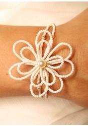 Bracelet mariage Camélia