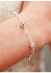 Bracelet de mariée Carla
