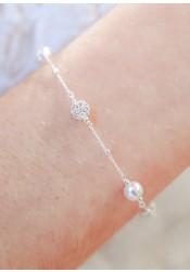 Bracelet de mariée Inès