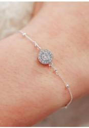 Bracelet de mariée Joséphine