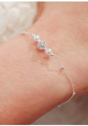 Bracelet de mariée Lexi