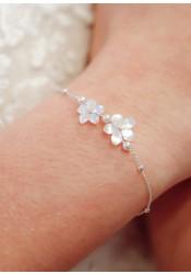 Bracelet de mariée bohème Gardania