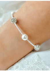 Bracelet mariage Lucie