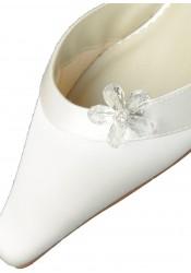 Clips chaussures Fleur d'été cristal