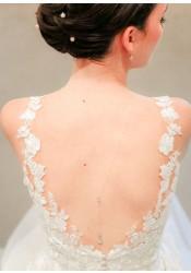 Collier de dos mariée Victoria