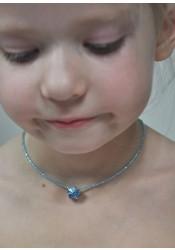 Collier enfant Petite Princesse - 5 coloris disponibles