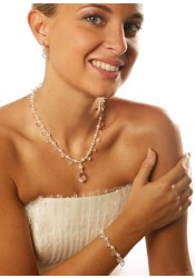 Collier mariage Glamour Perles