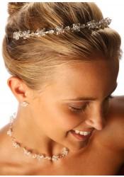 Diadème mariage Cristal