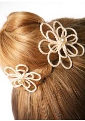 Pics cheveux mariage Camélia