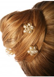 Pics cheveux mariage Estella crème (Lot de 3)