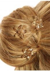 Pics cheveux mariage Lucie Miel